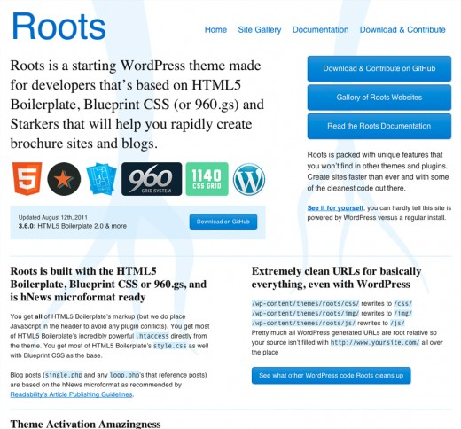 Roots Website Boilerplate
