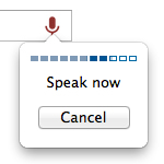 speech recognition in browsers
